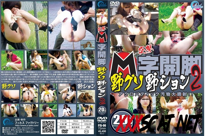 F15-06 突撃 M字開脚野グソ野ション 2 投稿 ジェイド Peeing and Pooping Outdoors 2018 [138.0570_F15-06] (SD)