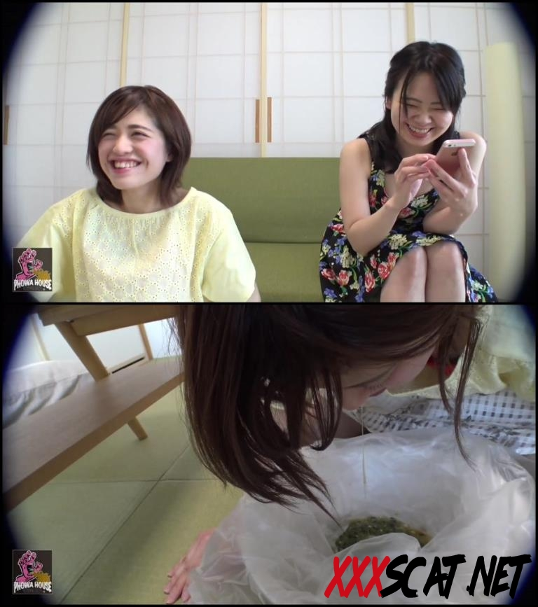 BFJV-12 Girls Puking Together スローアップ女の子 Forced Vomit 2018 [080.0641_BFJV-12] (FullHD)