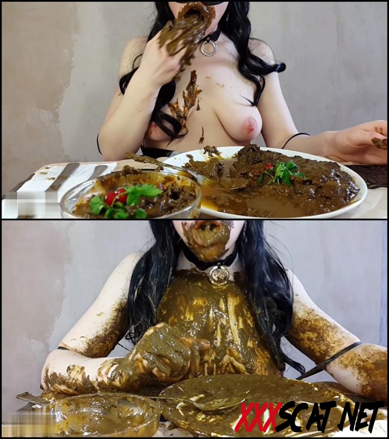 [Special #547] Anna Coprofield made dinner out of shit and ate fresh shit 2018 [143.547_BFSpec-547] (FullHD)