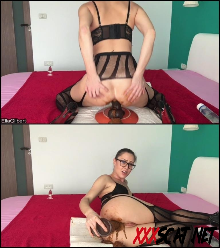 [Special #575] Ella Gilbert in black stokings hard fucked her dirty anal hole 2018 [182.575_BFSpec-575] (FullHD)