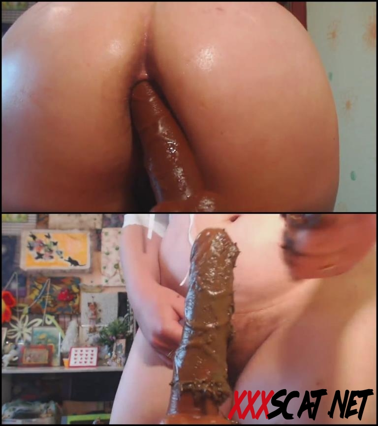 [Special #218] Masturbated dirty ass and pussy fallos in shit 2018 [030.0218_BFSpec-218] (FullHD)