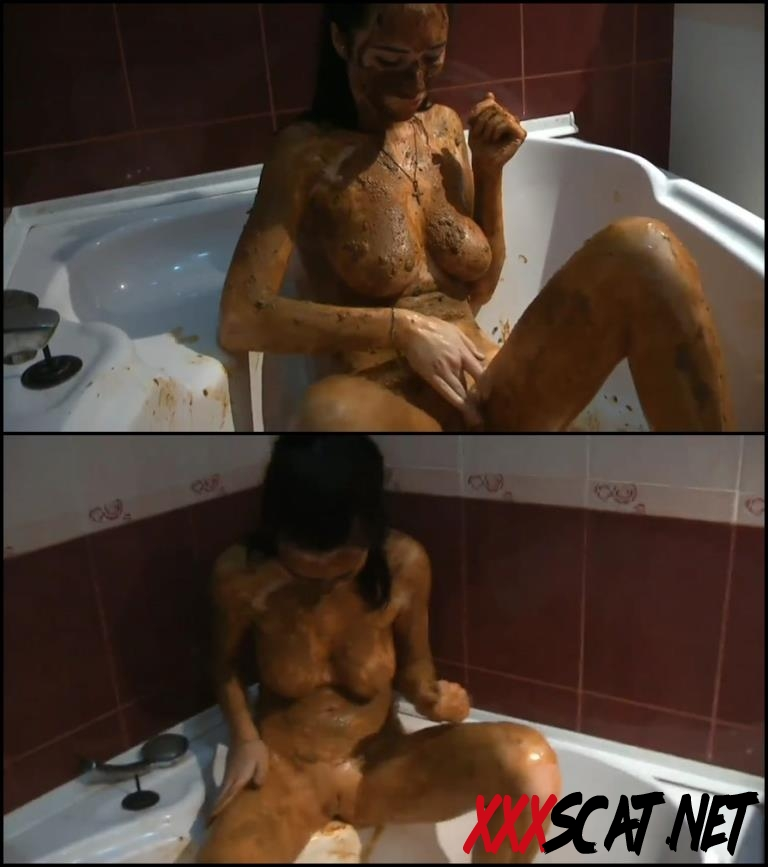 [Special #110] Russian girl covered feces masturbated in bath 2018 [200.0110_BFSpec-110] (FullHD)