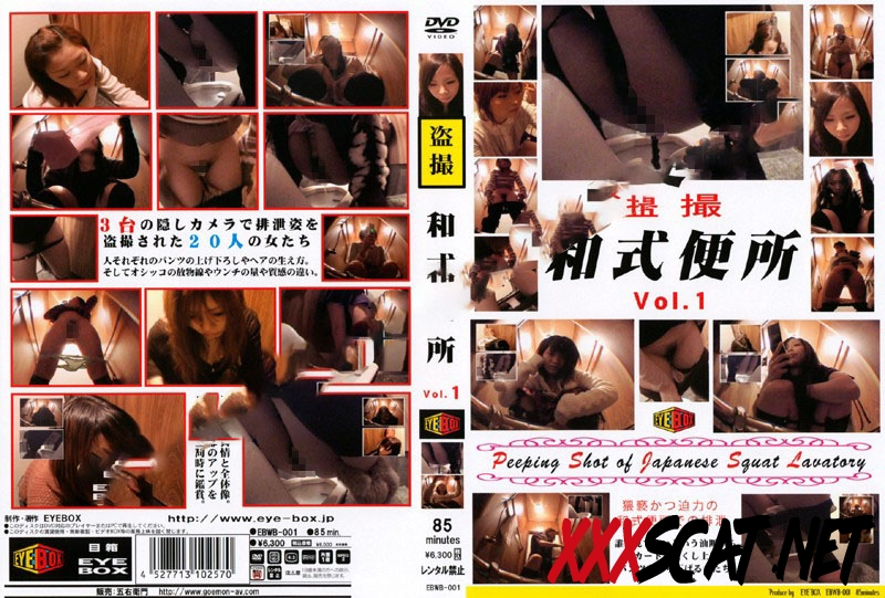 EBWB-01 スクワットトイレ盗撮 Defecation of a Japanese Woman in the Toilet 2019 [1.1712_EBWB-01] (SD)